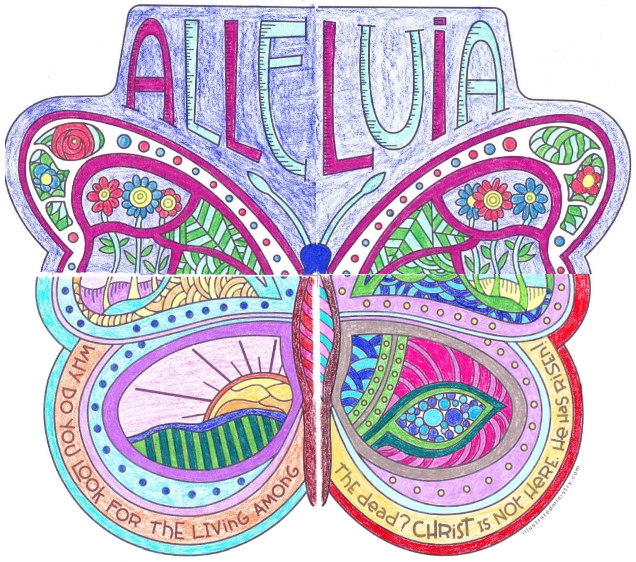 Lent 1 - Burying the Alleluias