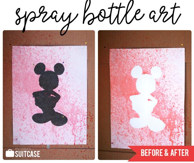 May 2 - Spray Bottle Art